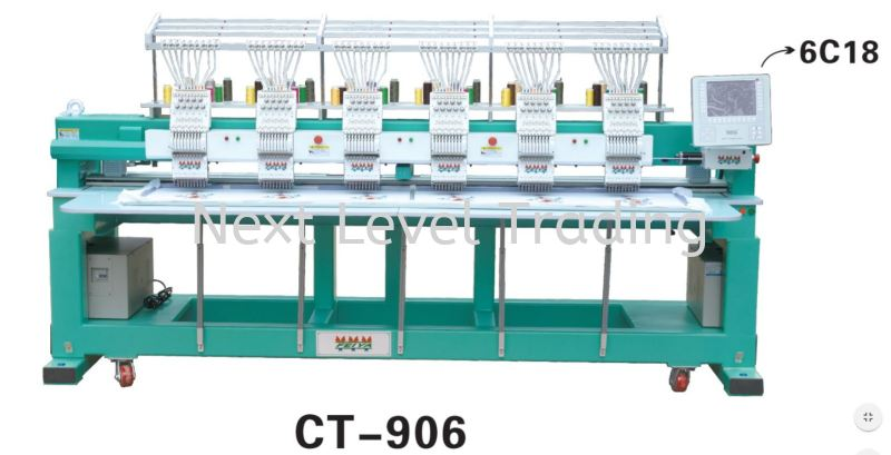 CT-906 New CT Series CT Models Embroidery Machines Malaysia, Selangor, Kuala Lumpur (KL), Cheras Supplier, Suppliers, Supply, Supplies | NLT Next Level Trading
