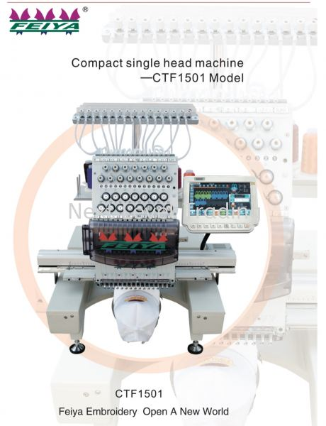CTF 1501 ( New)  CTF Models Embroidery Machines Malaysia, Selangor, Kuala Lumpur (KL), Cheras Supplier, Suppliers, Supply, Supplies | NLT Next Level Trading