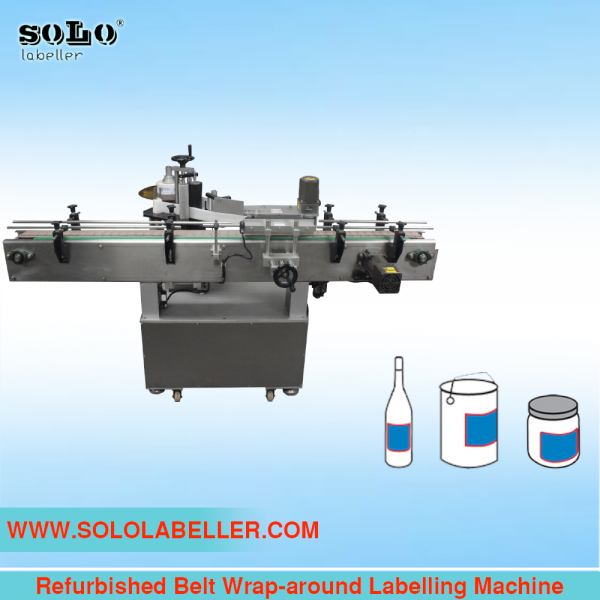 (Used) Belt Wrap-around Labelling Machine Used Machine Selangor, Malaysia, Kuala Lumpur (KL), Puchong Machine, Manufacturer, Supplier, Supply | Solo Labelling Sdn Bhd
