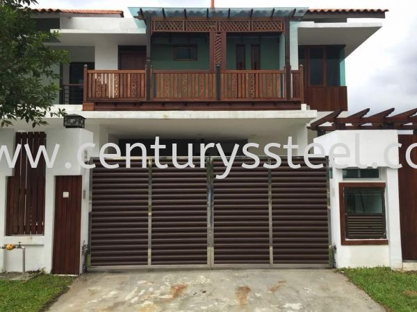 Stainless Steel Main Gate Johor Bahru (JB), Johor, Malaysia, Singapore Supplier, Suppliers, Supply, Supplies | Century Stainless Steel Trading