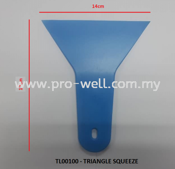 TRIANGLE SQUEEZE SQUEEZE Tools Seri Kembangan, Selangor, Malaysia Supplier, Supply, Installation, Services   Pro-Well Sdn Bhd