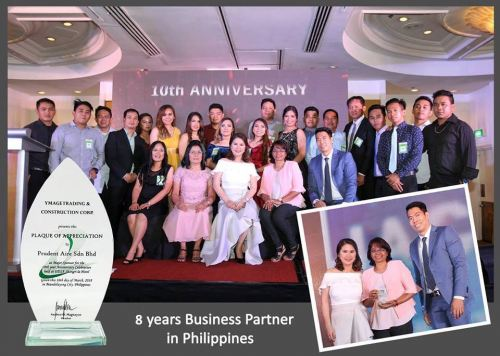 8years Business Partner In Philippine -Ymage