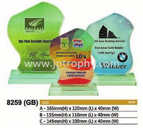 8259 (GB) Exclusive Crystal Glass Awards Johor Bahru (JB), Malaysia, Kluang, Bandar Baru Uda Supplier, Suppliers, Supply, Supplies | JAMSON & CO.