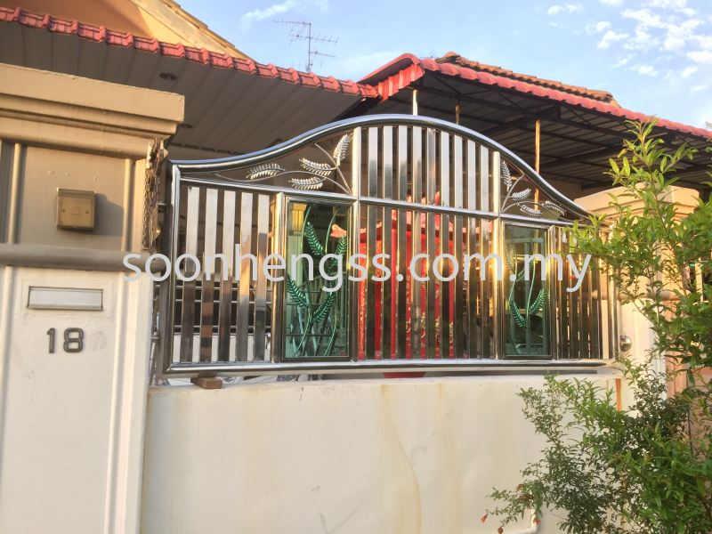 FENCE GATE STAINLESS STEEL Johor Bahru (JB), Skudai, Malaysia Contractor, Manufacturer, Supplier, Supply | Soon Heng Stainless Steel & Renovation Works Sdn Bhd