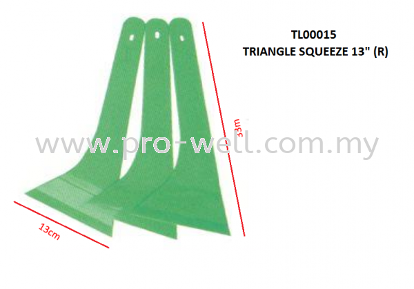TRIANGLE SQUEEZE 13inch (R-RIGHT HAND) SQUEEZE Tools Seri Kembangan, Selangor, Malaysia Supplier, Supply, Installation, Services | Pro-Well Sdn Bhd