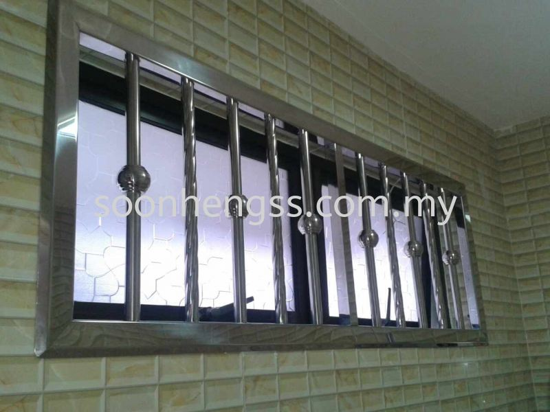 WINDOW STAINLESS STEEL Johor Bahru (JB), Skudai, Malaysia Contractor, Manufacturer, Supplier, Supply | Soon Heng Stainless Steel & Renovation Works Sdn Bhd