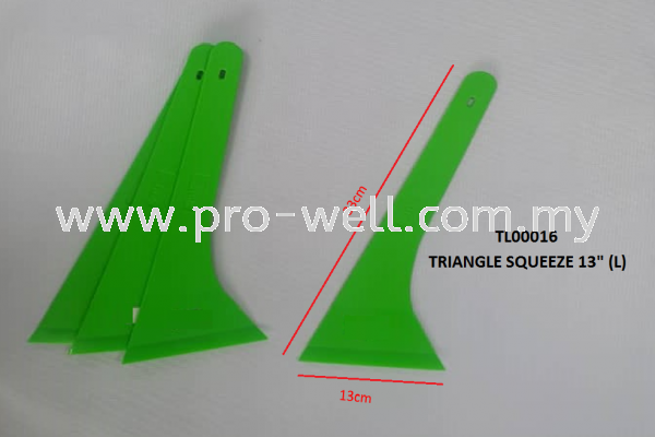 TRIANGLE SQUEEZE 13inch (L-LEFT HAND) SQUEEZE Tools Seri Kembangan, Selangor, Malaysia Supplier, Supply, Installation, Services | Pro-Well Sdn Bhd