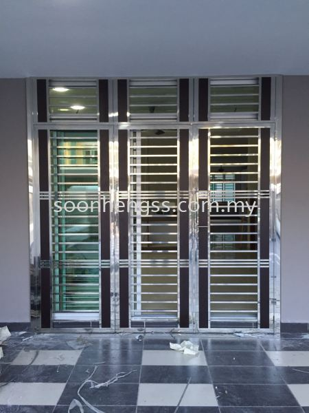 SLIDING DOOR STAINLESS STEEL Johor Bahru (JB), Skudai, Malaysia Contractor, Manufacturer, Supplier, Supply | Soon Heng Stainless Steel & Renovation Works Sdn Bhd