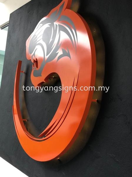 Metal Box-Up Backlit Stainless Steel / EG Box-up Kuala Lumpur (KL), Malaysia, Selangor, Taman OUG Supplier, Suppliers, Supply, Supplies | Tong Yang Signs Technology Sdn Bhd