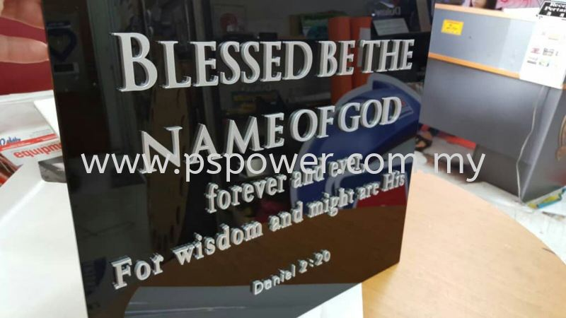 Acrylic 3D Lettering Signage INDOOR SIGNAGE SIGNAGE Selangor, Malaysia, Kuala Lumpur (KL), Puchong Manufacturer, Maker, Supplier, Supply | PS Power Signs Sdn Bhd
