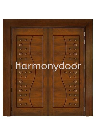 UR-10 UR Series Solid Wooden Main Door Selangor, Malaysia, Kuala Lumpur (KL), Ampang Supplier, Suppliers, Supply, Supplies   Harmony Door Enterprise