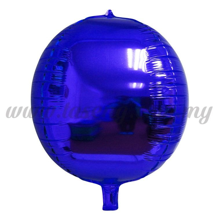 4D Foil Balloon - Blue (FB-SLA461-B)