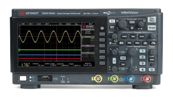 Keysight DSOX1204A Oscilloscope: 70/100/200 MHz, 4 Analog Channels Oscilloscopes InfiniiVision 1000 X-Series Oscilloscope Keysight Singapore Distributor, Supplier, Supply, Supplies | Mobicon-Remote Electronic Pte Ltd
