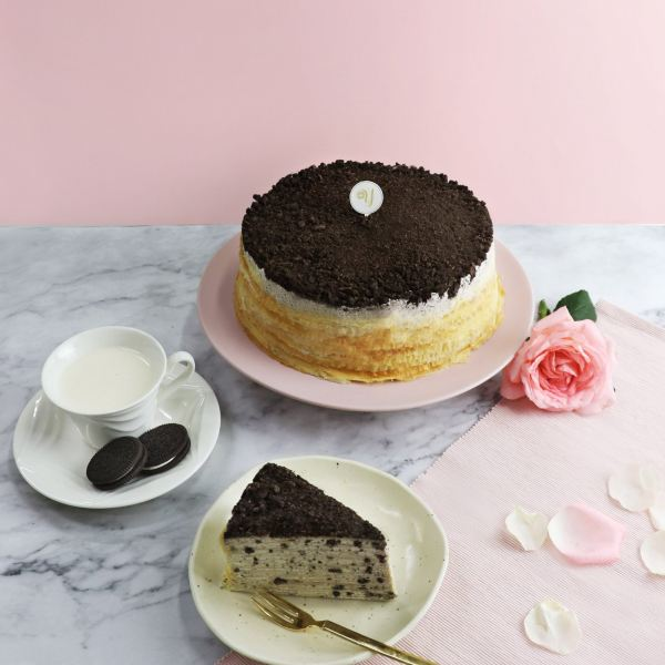 OREO WIZARD MILLE CREPE CAKE Mille Crepe Cakes Delivery Online Cake Delivery Kuala Lumpur (KL), Selangor, Malaysia, Cheras Delivery, Service | Sweet Maximus Enterprise