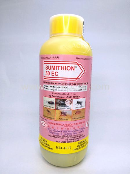 Sumithion 50EC Fenitrothion Active Ingredients Selangor, Malaysia, Kuala Lumpur (KL), Puchong Supplier, Suppliers, Supply, Supplies | COMPESTI SDN BHD
