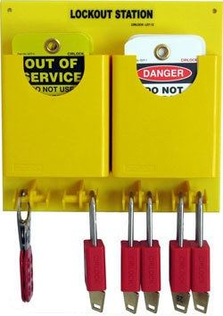 Cirlock Compact Lockout Station - Small with 5 padlocks LST-12 Lockout Stations Lockout / Tagout Selangor, Malaysia, Kuala Lumpur (KL), Shah Alam Supplier, Suppliers, Supply, Supplies | Safety Solutions (M) Sdn Bhd