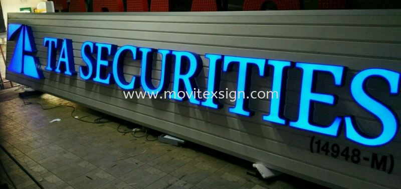 LED logo sign and 3D lettering with aluminum panel board good for use in corporate office, hospital and bank (click for more detail) LED Signage LED Signage and Neon Signboard Johor Bahru (JB), Johor, Malaysia. Design, Supplier, Manufacturers, Suppliers | M-Movitexsign Advertising Art & Print Sdn Bhd