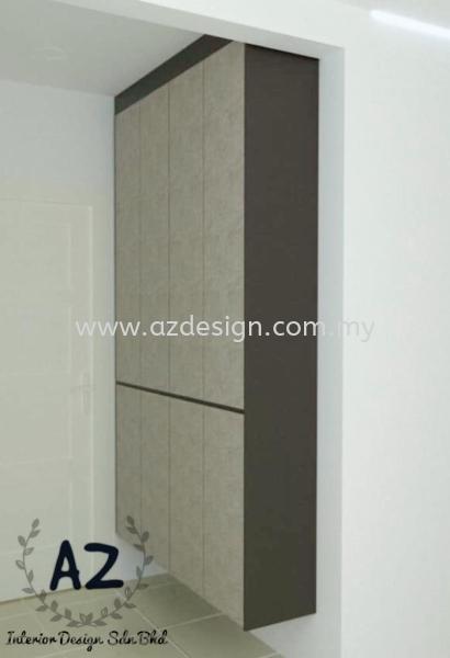 Built In Shoe Cabinet Selangor, Malaysia, Puchong, Kuala Lumpur (KL) Design, Services, Contractor | Az Interior Design Sdn Bhd
