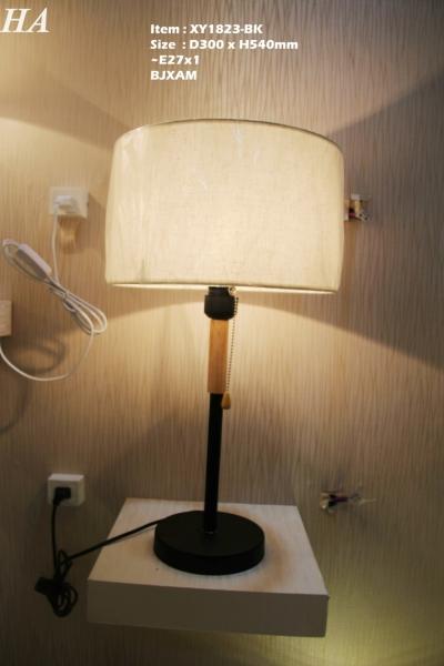 XY1823-BK Table Lamp Johor Bahru (JB), Johor, Malaysia. Supplier, Suppliers, Supplies, Supply | HT Lighting Sdn Bhd