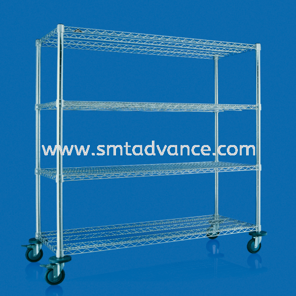SMT SUS Heavy-duty Shelving with caster wheels Heavy-duty Shelving  Shelving Series SMT Shelving Malaysia, Penang Manufacturer, Supplier, Supply, Supplies | SMT System Metal Technology Sdn Bhd