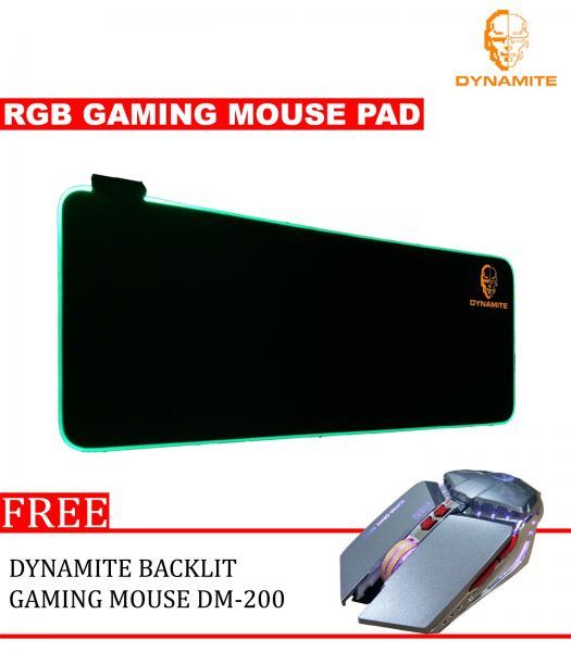 Dynamite RGB Gaming Mouse and Backlit Gaming Mouse DM 200 Silver Gaming Mouse Pad Kuala Lumpur (KL), Selangor, Malaysia Supplier, Suppliers, Supplies, Supply | Dynamite Marketing