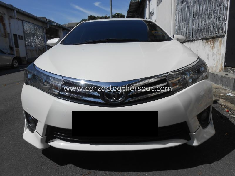 TOYOTA ALTIS 2015 STEERING WHEEL REPLACE LEATHER Steering Wheel Leather Cheras, Selangor, Kuala Lumpur, KL, Malaysia. Service, Retailer, One Stop Solution | Carzac Sdn Bhd