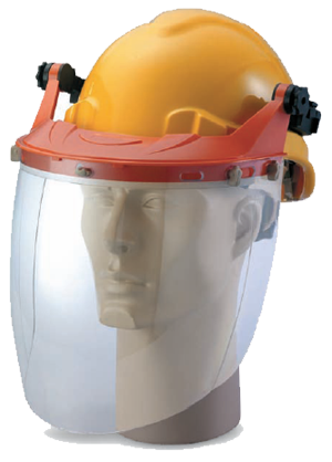 Carrier With Spherical Clear Visor Head Protection  Protective Apparel Selangor, Malaysia, Kuala Lumpur (KL), Shah Alam Supplier, Suppliers, Supply, Supplies | Safety Solutions (M) Sdn Bhd