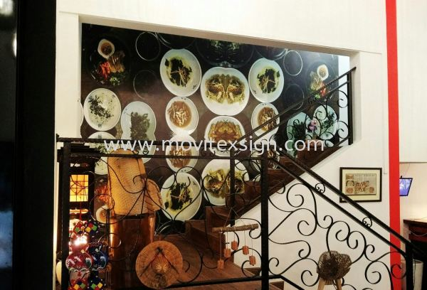 wall posters /wall Paper in UV printing food product (click for more detail) Door  sign / table sign / glass door sign Interior Sign and Building Directory Johor Bahru (JB), Johor, Malaysia. Design, Supplier, Manufacturers, Suppliers   M-Movitexsign Advertising Art & Print Sdn Bhd