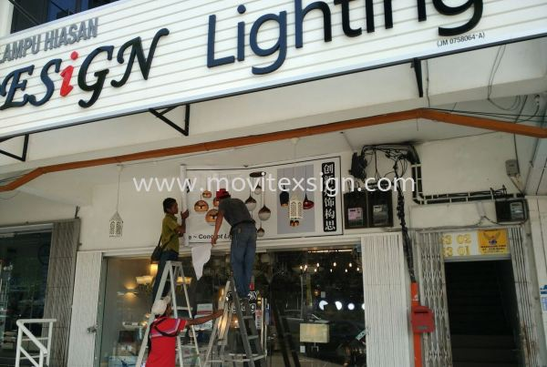 repair led sign /Installation n dismantal sign /wall Sticker n Rental transportation Etc (click for more detail) Installation / Dismantle and Washing Services Johor Bahru (JB), Johor, Malaysia. Design, Supplier, Manufacturers, Suppliers | M-Movitexsign Advertising Art & Print Sdn Bhd