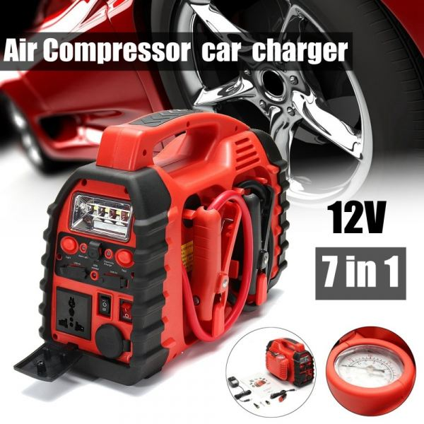 12V Air Compressor Car Charger Battery Jump Starter Small Portable Tyre Inflator CAR BATTERY JUMP STARTER CAR ACCESSORIES DAN TOOLS Kuala Lumpur (KL), Malaysia, Selangor Supplier, Suppliers, Supply, Supplies | Mobile Life Automobil Sdn Bhd