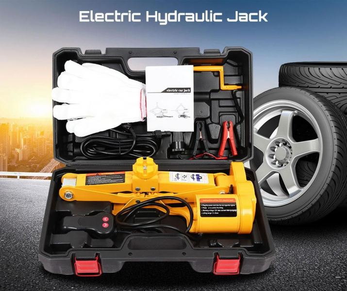 12V MULTIFUNCTIONAL AUTO ELECTRIC HYDRAULIC JACK CAR LIFT TIRE REPAIR TOOL (YELLOW) CAR ACCESSORIES DAN TOOLS Kuala Lumpur (KL), Malaysia, Selangor Supplier, Suppliers, Supply, Supplies | Mobile Life Automobil Sdn Bhd