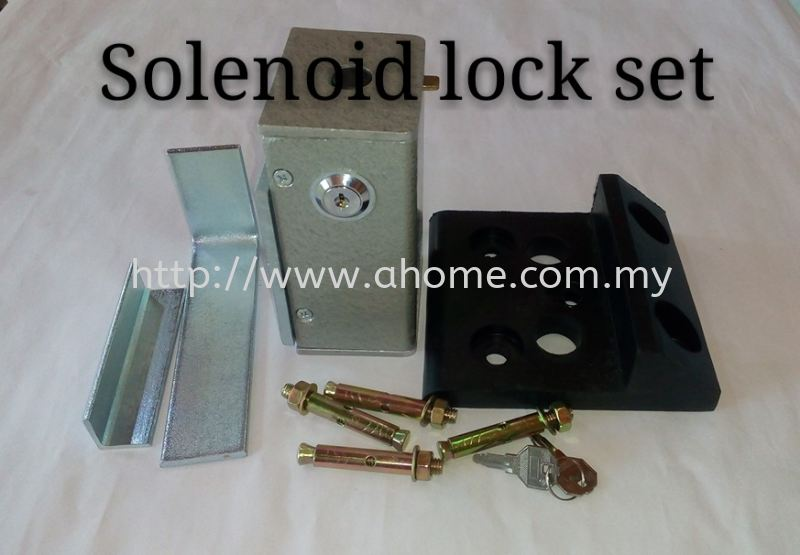 SOLENOID LOCK SET Jit-Arm Auto Gate Accessories Selangor, Kajang, Malaysia, Kuala Lumpur (KL) Supplier, Supply, Installation, Service | A Home Automation Sdn Bhd
