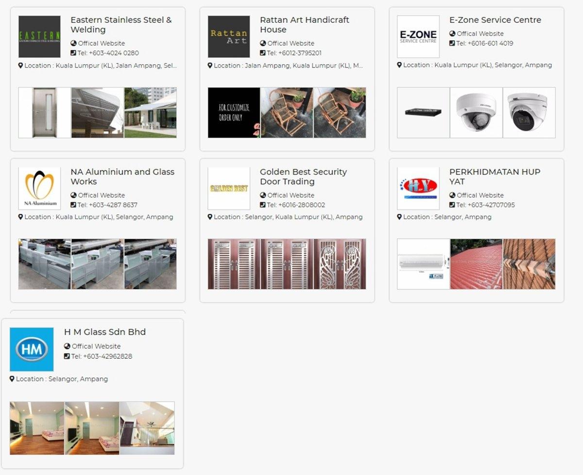 Renovation & Home Decoration - Ampang , Kuala Lumpur Johor Renovation Merchant Lists   | HomeBagus - Home and Deco ONLINE EXPO!