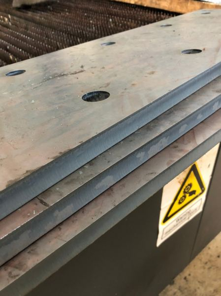 Mild steel - Structure base plate Mild Steel Plate Laser Cutting Selangor, Malaysia, Kuala Lumpur (KL), Sungai Buloh Services | Initial Engineering Marketing Sdn Bhd