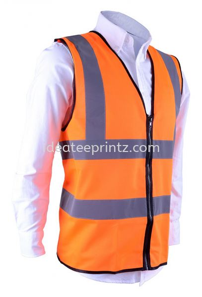 SV 02 Safety Orange Safety Vest Corporate Uniform Rightway Apparel Kuala Lumpur (KL), Malaysia, Selangor, Cheras, Kepong Supplier, Suppliers, Supply, Supplies | Win Work Marketing