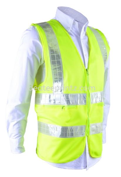 SV 03 Fluorescent Yellow (Pocket) Safety Vest Corporate Uniform Rightway Apparel Kuala Lumpur (KL), Malaysia, Selangor, Cheras, Kepong Supplier, Suppliers, Supply, Supplies | Win Work Marketing