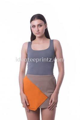 WST Singlet Top 05 Metallic Grey