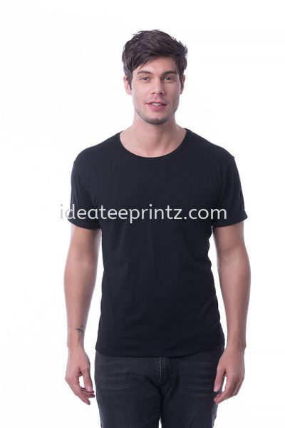 MRN Round Neck 10 Pirate Black Men's Collection Essential Cotton Rightway Apparel Kuala Lumpur (KL), Malaysia, Selangor, Cheras, Kepong Supplier, Suppliers, Supply, Supplies | Win Work Marketing