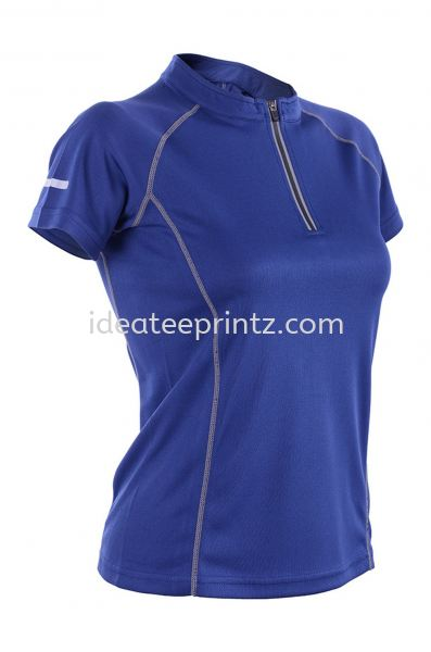 WOZ 4509 Navy Blue-ZIP Outrefit Ladies Outrefit Rightway Apparel Kuala Lumpur (KL), Malaysia, Selangor, Cheras, Kepong Supplier, Suppliers, Supply, Supplies | Win Work Marketing