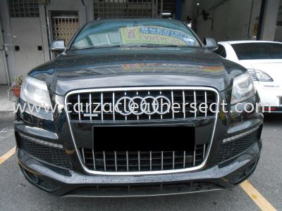 AUDI Q7 REPLACE ROOF FABRIC / ROOF LINER/HEADLINER