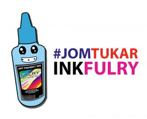 Fulry Waterproof Art Pigment Ink Terbaik.