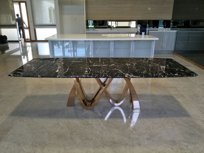 Modern Marble Dining Table  Marble Dining Table Selangor, Kuala Lumpur (KL), Malaysia Supplier, Suppliers, Supply, Supplies | DeCasa Marble Sdn Bhd
