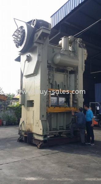 H Frame Power Press Machine Used Frame Power Press Machine Johor Bahru (JB), Malaysia, Tebrau Supplier, Suppliers, Supply, Supplies | BuySales Dot Com