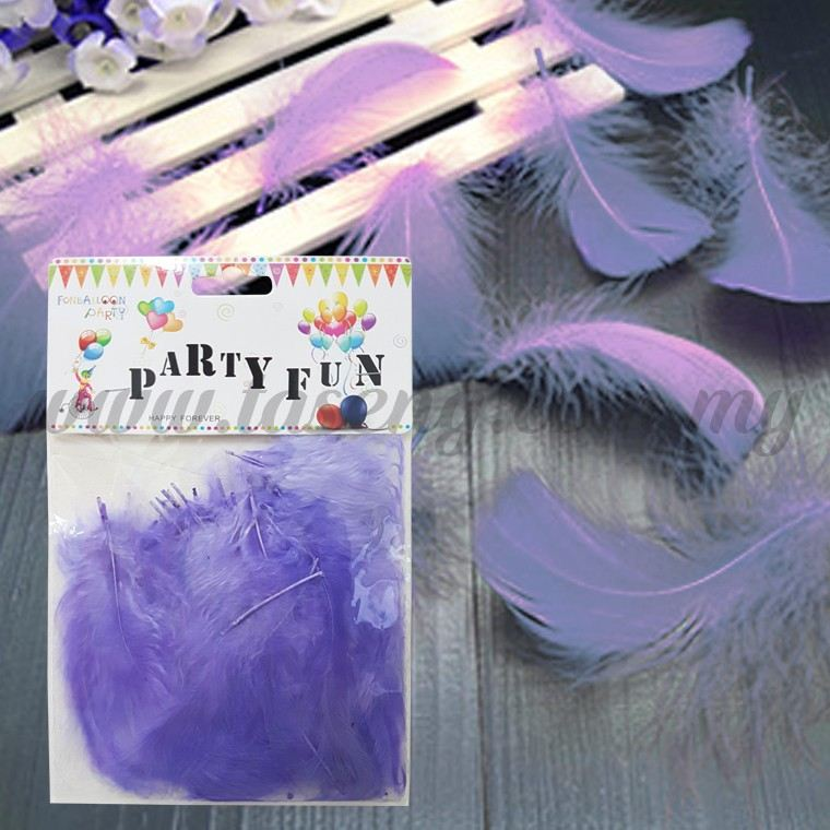 Feather *Lavendar (P-AC-F1LV)