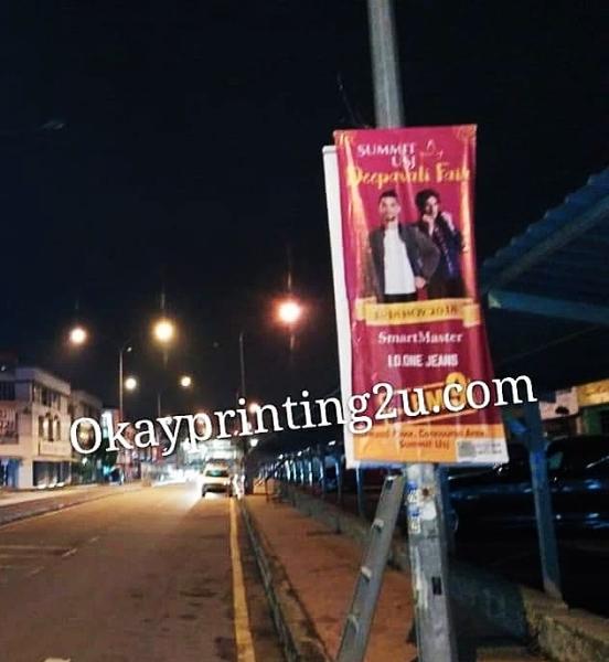 Lampost Bunting Selangor, Malaysia, Kuala Lumpur (KL), Puchong Supplier, Manufacturer, Supply, Supplies | Oak Leaf Printing & Advertising Sdn Bhd