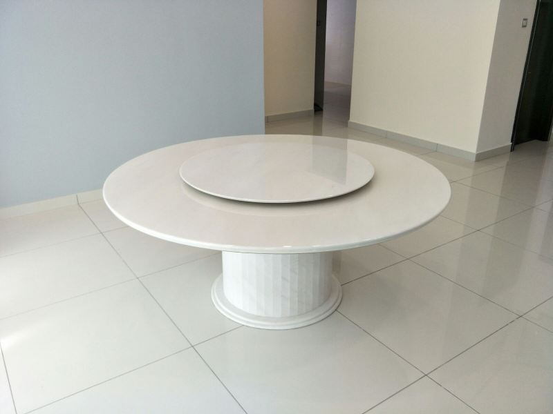 Round White Marble Dining Table  Marble Dining Table Selangor, Kuala Lumpur (KL), Malaysia Supplier, Suppliers, Supply, Supplies   DeCasa Marble Sdn Bhd