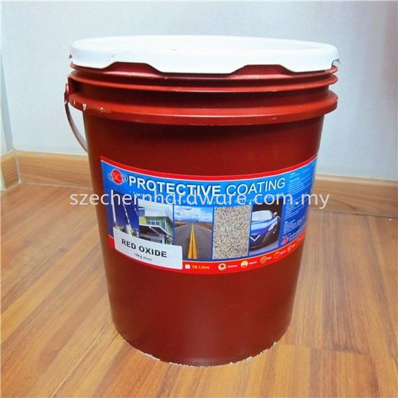 SC PC RED OXIDE PLASTIC PAIL SC PAINT Selangor, Malaysia, Kuala Lumpur (KL), Shah Alam Supplier, Suppliers, Supply, Supplies   Sze Chern Hardware Trading Sdn Bhd