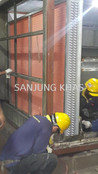 Replace Cooling Coil for AHU Replace Cooling Coil for AHU Air Conditioner Repairs & Services Selangor, Malaysia, Kuala Lumpur (KL), Shah Alam Repair, Maintenance, Service | Sanjung Khas Sdn Bhd