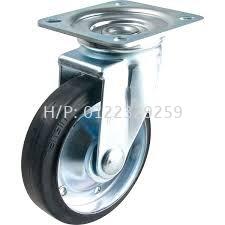 Nansin STM Rubber Swivel Rubber - Nansin Medium Duty (200kg-500kg) Castor & Wheel Malaysia, Melaka Supplier, Suppliers, Supply, Supplies   Multi Trolley (Melaka) Sdn Bhd