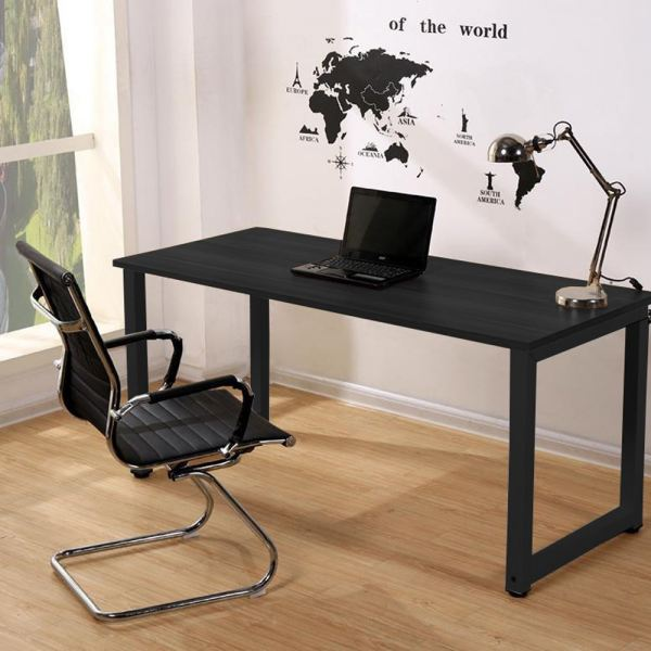 Black Steel Designer Table/ Study Table/ Computer Table (Black) Office Table Office Furniture Malaysia, Selangor, Kuala Lumpur (KL) Supplier, Suppliers, Supply, Supplies | Like Bug Sdn Bhd